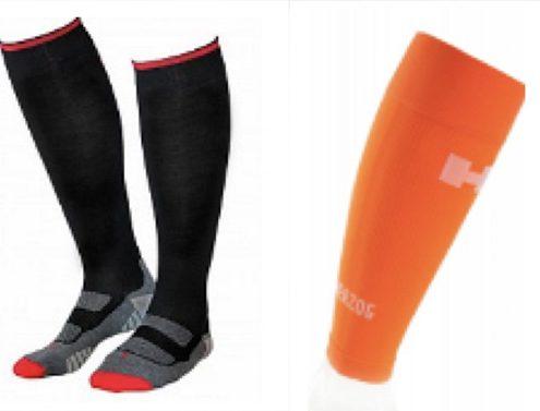 sportkousen met en zonder voet